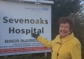 Merilyn at Sevenoaks Hospital