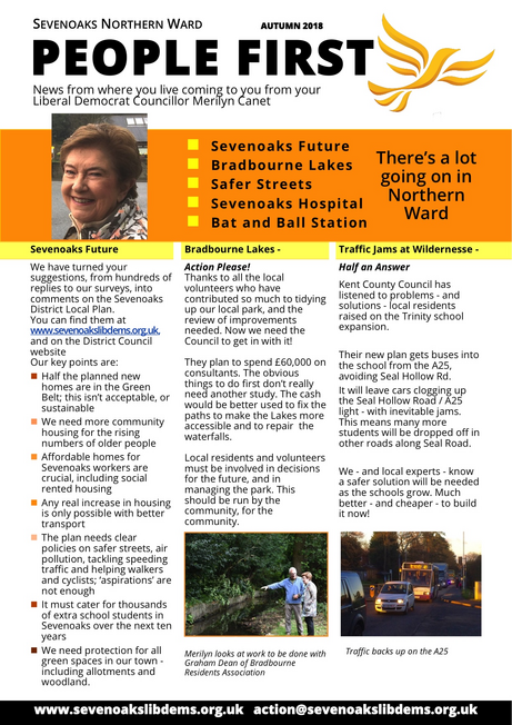 Sevenoaks Northern November 2018 People First