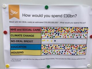 Brexitometer, Gravesend, 7.9.19