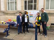 From l to r: Antony Hook MEP, Ukonu Obasi (Gravesham PPC), Judith Bunting MEP, Kyle Marsh (Dartford PPC)