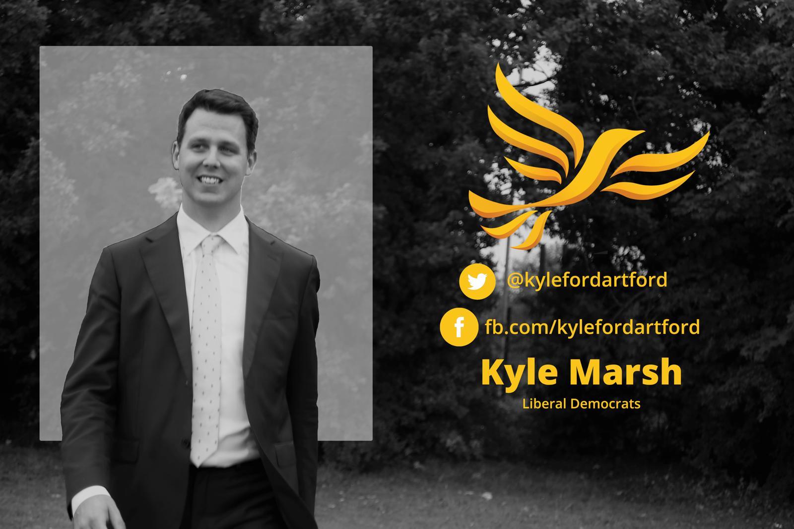 PPC for Dartford, Kyle Marsh