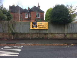Quakers Hall banner