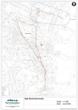 Sevenoaks pedestrian plan