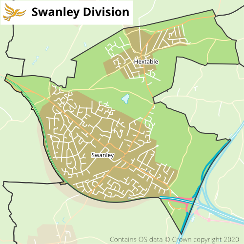 Swanley Division in the KCC Elections 2021